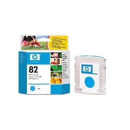 Tusz HP 82 C4911A Oryginalny, Błękitny (cyan), 69 ml