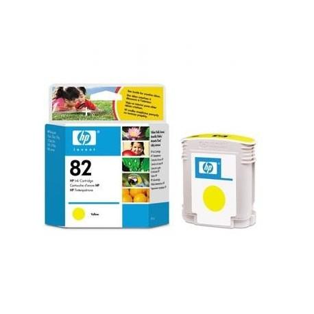 Tusz HP 82 C4913A Oryginalny, Żółty (yellow), 69 ml