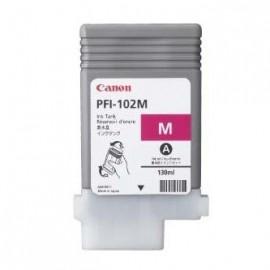 Tusz Canon PFI-102M IPF500, 600, 700 czerwony, 130ml
