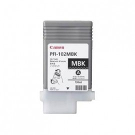 Tusz Canon PFI-102MBK IPF500, 600, 700 matt black, 130ml