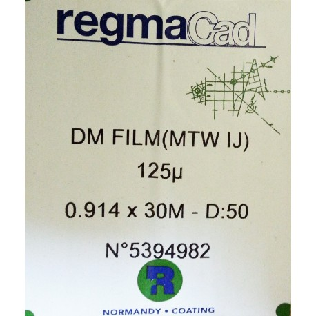 Folia RegmaCad DM 125 mic 0,914x30m