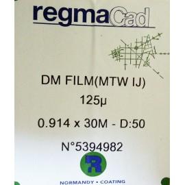 Folia RegmaCad DM 125 mic 0,610x20m
