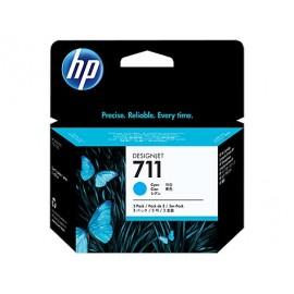 HP 711 (CZ134A) tusz niebieski, trójpak