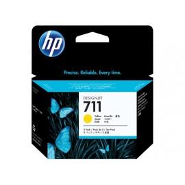HP 711 (CZ136A) tusz żółty, trójpak