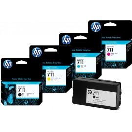 HP 711 (CZ130A) tusz niebieski