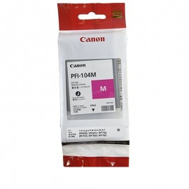 Tusz Canon PFI-104M IPF500, 600, 700 czerwony, 130ml